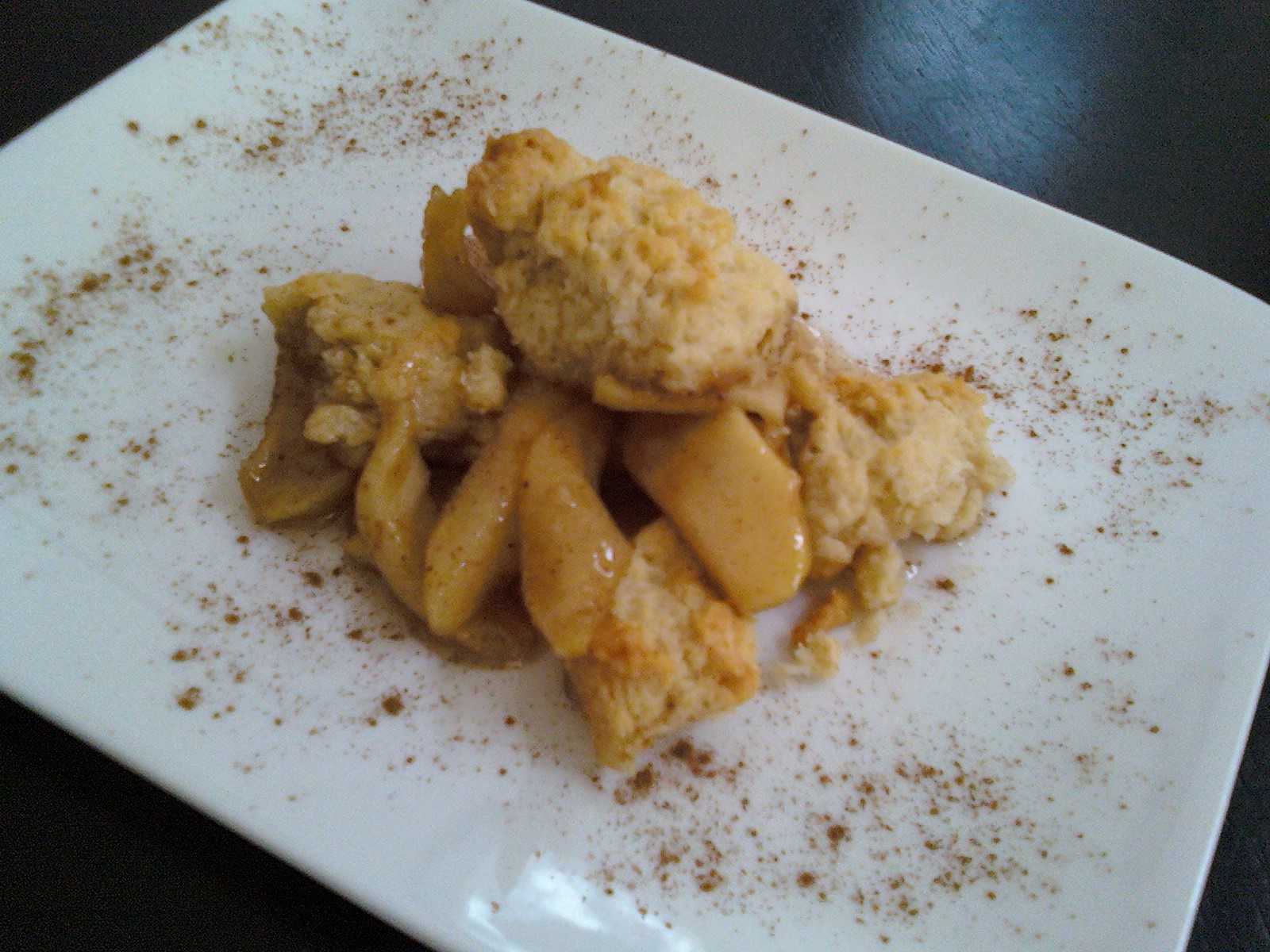 Apple Cobbler Using Spice Cake Mix
