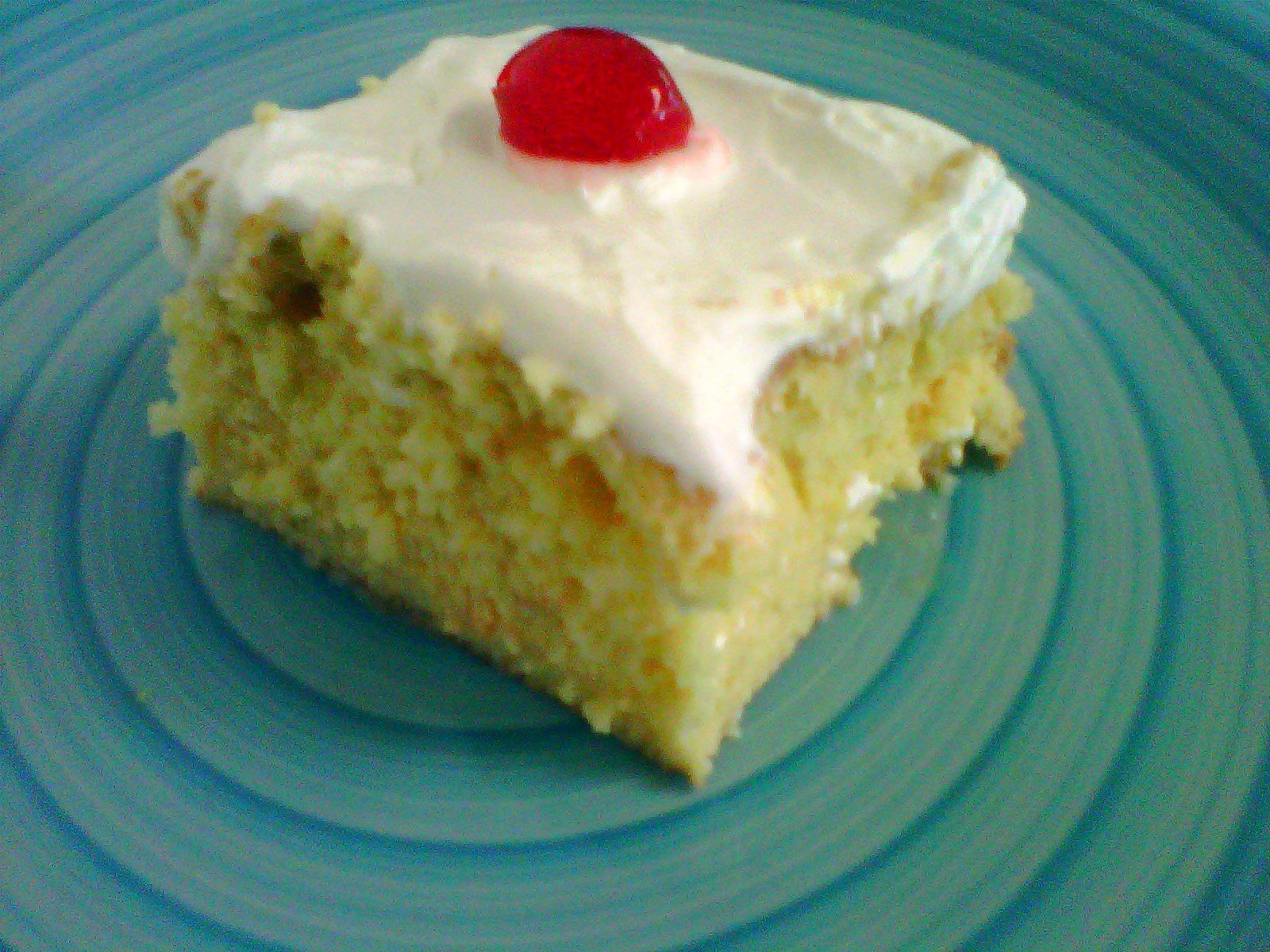 Puerto Rican Tres Leches Cake Recipe