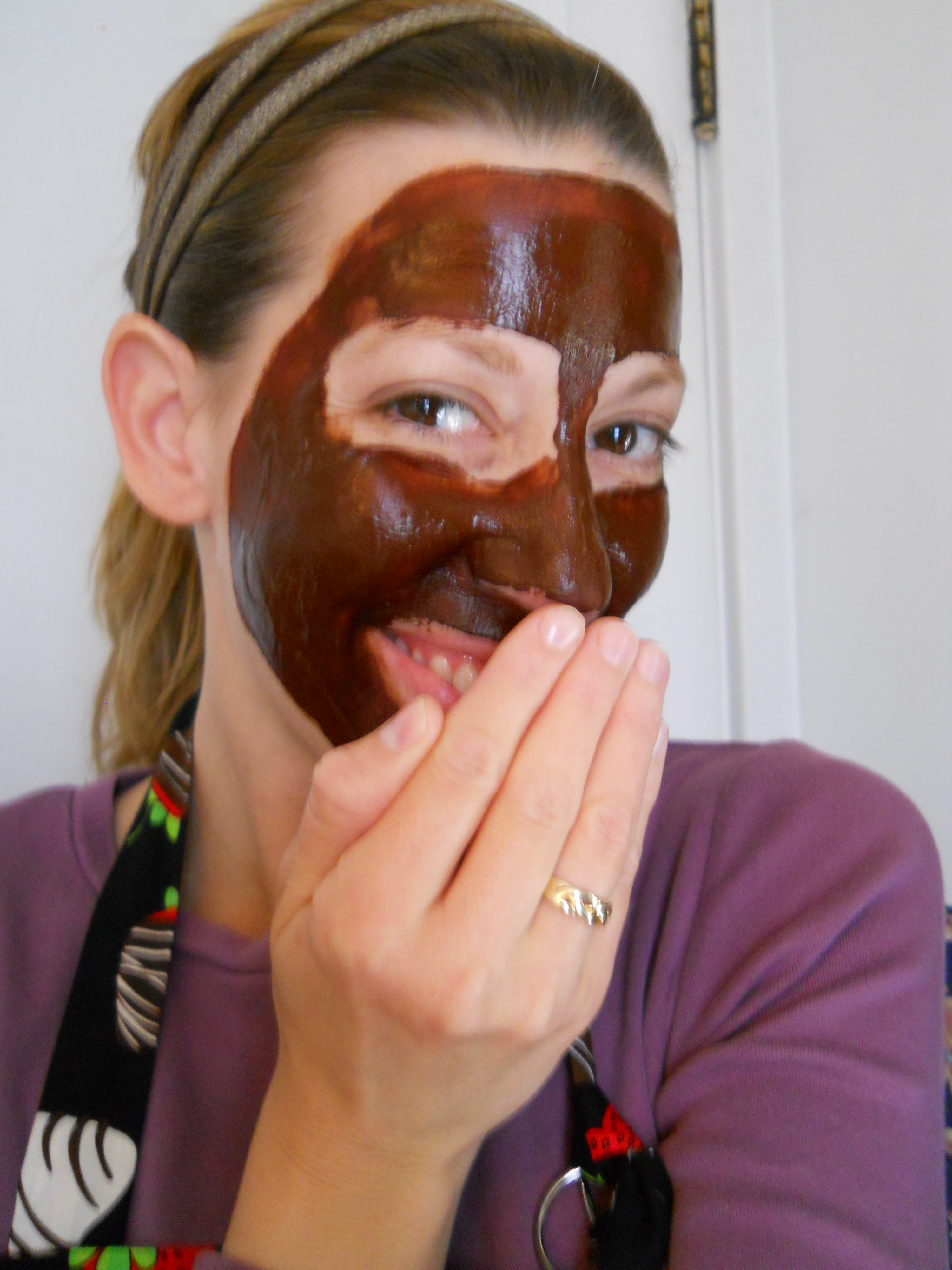 Chocolate Facial Mask – The Chocolate Bottle