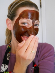 chocolate facial mask
