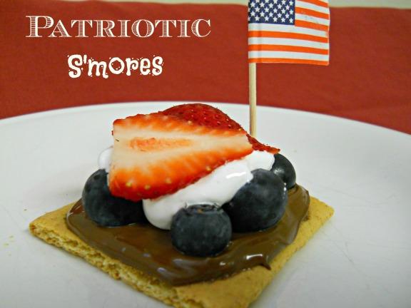 Patriotic S'mores