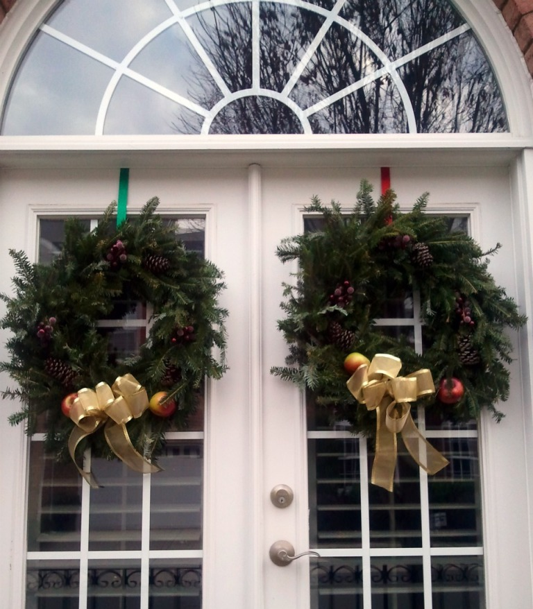 Mom's wreaths