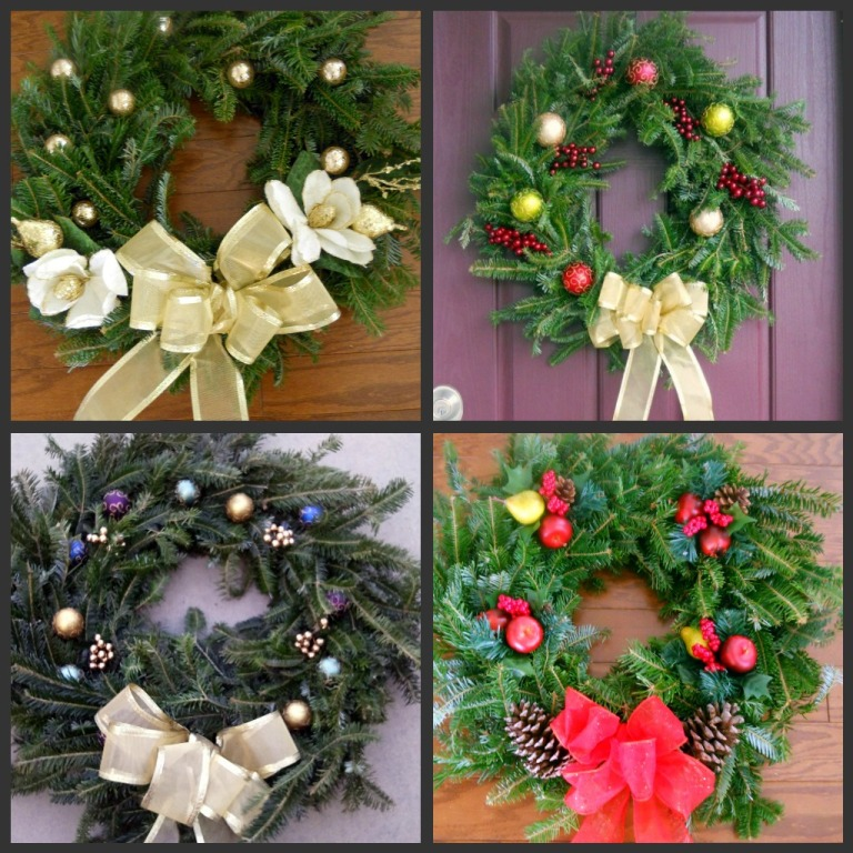 Living wreaths