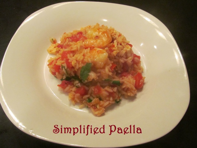 Simplified Paella