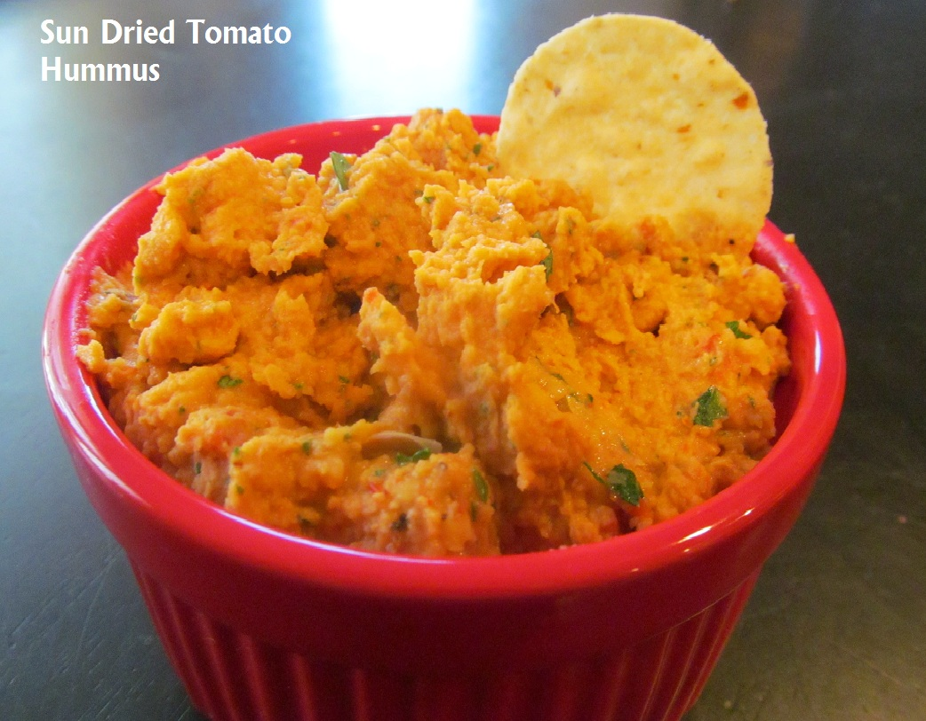 Sun Dried Tomato Hummus | The Chocolate Bottle