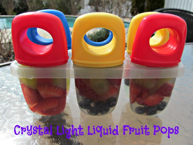 Liquid fruit pops
