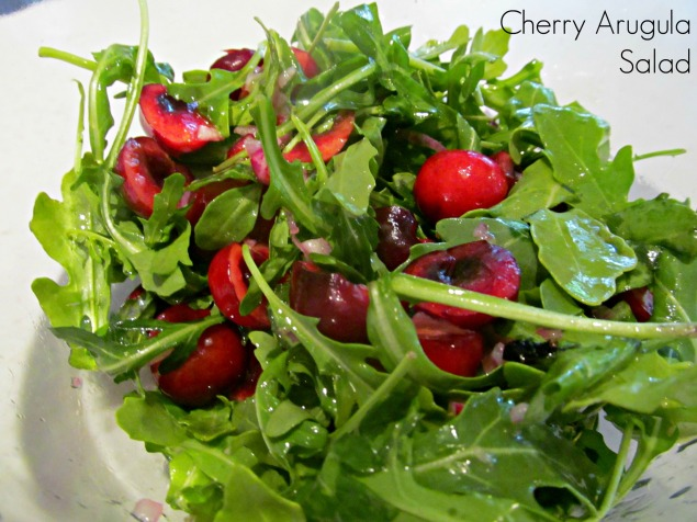 Cherry Arugula Salad