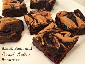 Black Bean and Peanut Butter Brownies