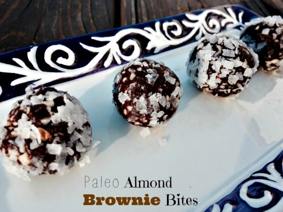 Paleo Almond Brownie Bites