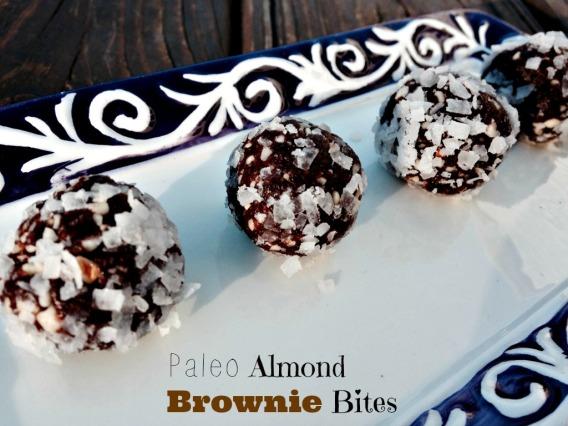 Paleo Almond Brownie Bites