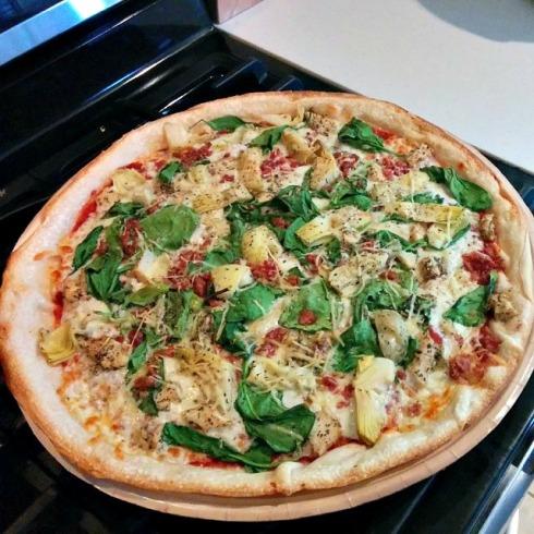 Papa Murphy's baked pizza