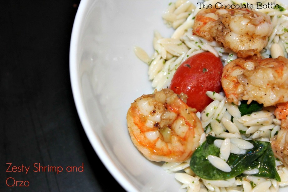 Zesty Shrimp and Orzo