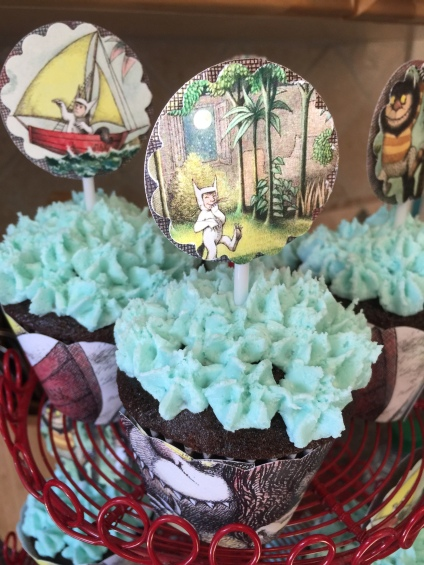 Where the Wild Things Are Chocolate Cupcakes